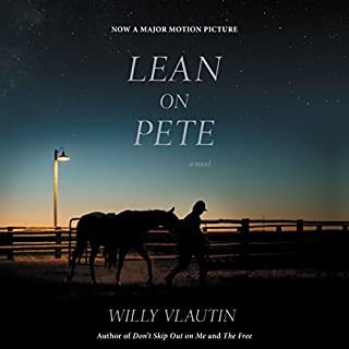 Lean on Pete audiobook cover art