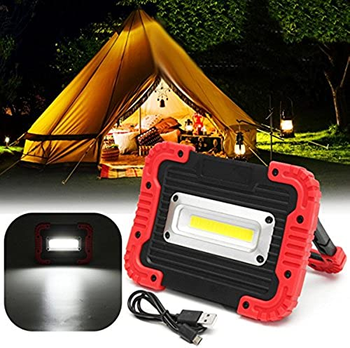 BZAHW portable 10W COB LED travail lumière USB rechargeable camping en plein air poignée de lampe de poche BZAHW