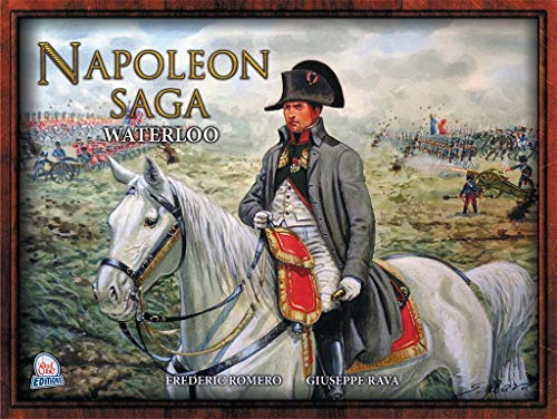 L'Ei Cube Éditions – Napoleon Saga – 1 – Waterloo