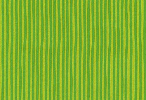 Westfalenstoffe * Junge Linie * Grün Streifen * Kinderstoffe * Meterware