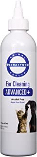 Stratford Ear Cleaning Advanced+ for Dogs Cats (8 oz)