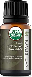 Best Golden Rod Essential Oil Pure Certified Organic Therapeutic Grade 10ml