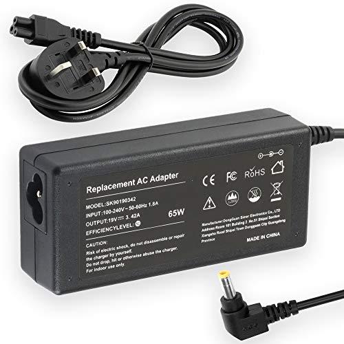 19V 2.15A 40W Ac Adapter Charger/Power Cord Supply for Acer Aspire V5 V3 E1 E3 E5 E11 PA-1300-04 Laptop Netbook