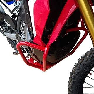Inpreda Crash Bar Engine Guard + Skid Plate Compatible with Honda CRF250 Rally