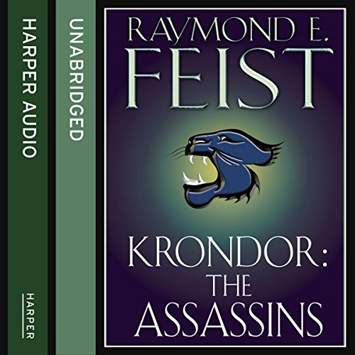 Krondor: The Assassins audiobook cover art