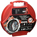 Green Valley 959090 X Matic Cadenas para la Nieve N°90 Auto Voltage, 2 Piezas