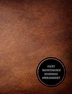 Fleet Maintenance Schedule Spreadsheet: Maintenance Log