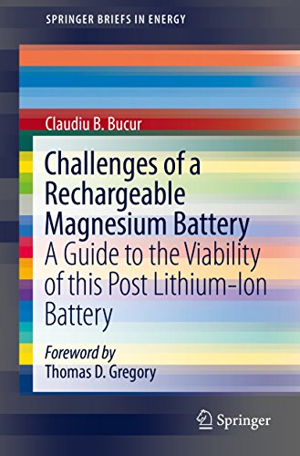 Challenges of a Rechargeable Magnesium Battery: A Guide to the Viability of this Post Lithium-Ion Battery (SpringerBriefs in Energy) (English Edition)