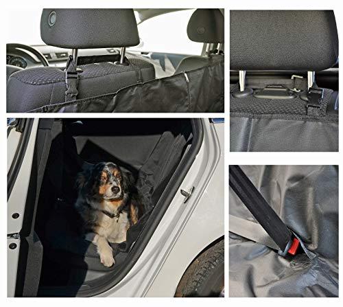 Heimtexland Typ659 Autodeken, hondendeken, beschermhoes, achterbank, kofferbak, afwasbaar, 145 x 150