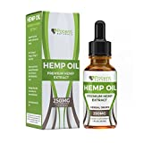 Hemp Oil Drops - Supports Anti-Anxiety and Stress Health - Natural Potent Drops - Packed with Omega...