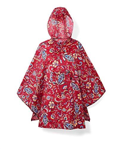 reisenthel Unisex Mini Maxi Poncho, Paisley Ruby, One Size