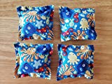 Catnip Ravioli Pillow Toys, Fish, Octopus, Whale, Seahorse, Squid, Cat, Cats, Kittens, Set of 4