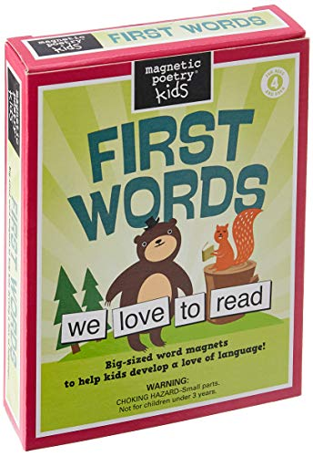 First Words Kit: Magnetic Poetry (Magnetic Poetry S.)