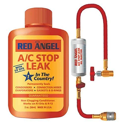 Red Angel A/C Stop Leak & Injector Bundle (2 Items)