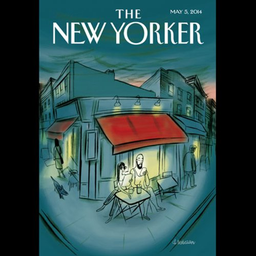 The New Yorker, May 5th 2014 (Patrick Radden Keefe, Yudhijit Bhattacharjee, Kelefa Sanneh) cover art