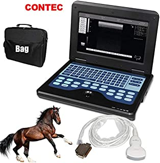 CONTEC CMS600P2 Vet Veterinary use Portable Laptop B-Ultra Sound Scanner Machine for Horse/Equine/Cow/Sheep use