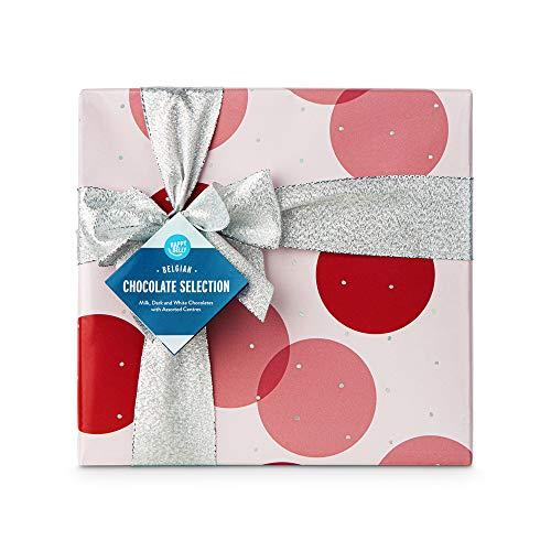 Marca Amazon - Happy Belly Selección de bombones de chocolate belga 500g