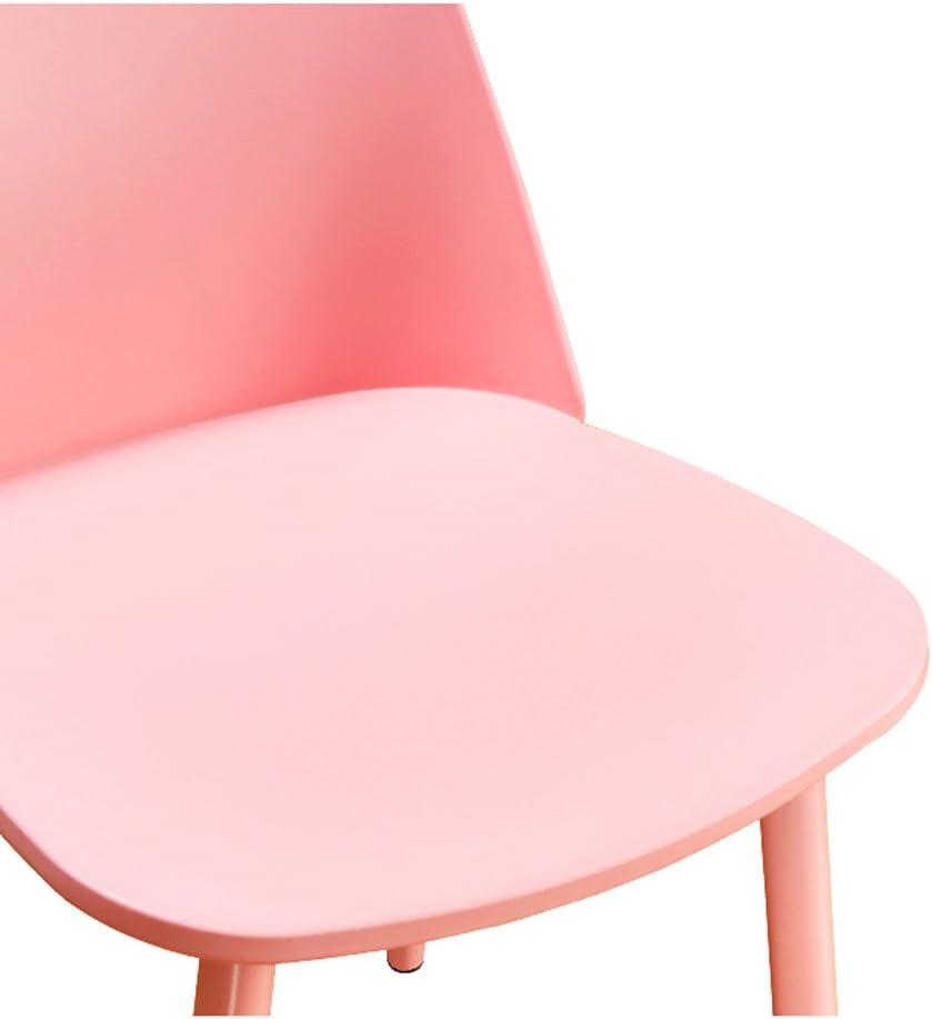Chaise de bureau simple négociation occasionnelle réception mode dinant la chaise (Couleur : F) D