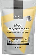 Amazon-Marke: Amfit Nutrition Mahlzeitersatz Schokoladengeschmack, 2.4kg (ehemals PBN)