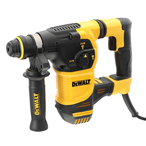 DEWALT D25333K-240V SDS Plus Brushless Rotary Hammer Drill, 240 V, Yellow/Black, 30 mm
