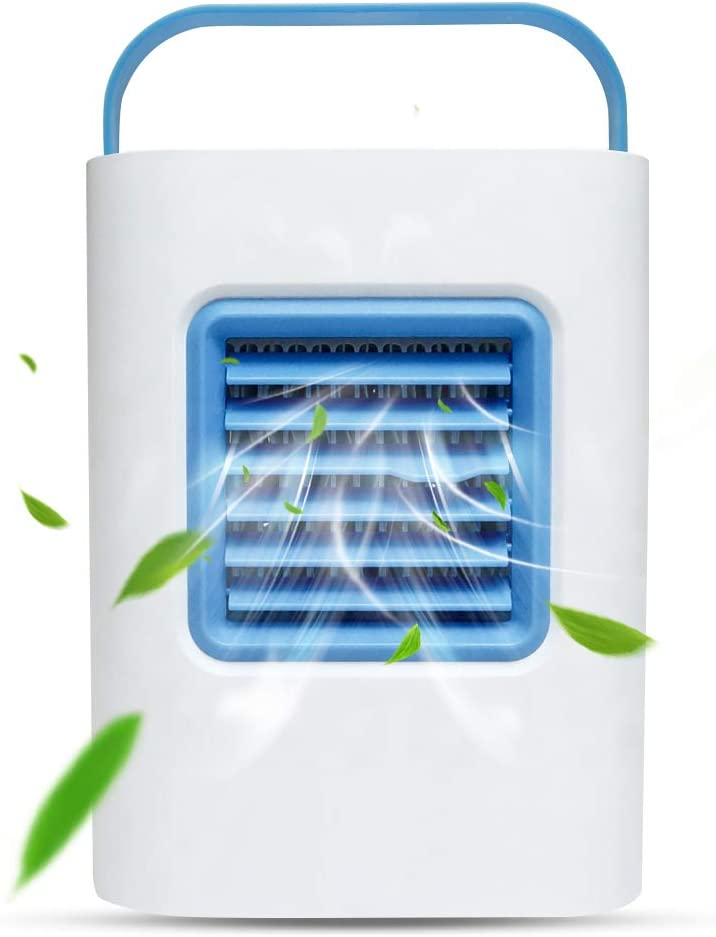 Portable Air Cooler Fan USB Max 79% OFF Conditioner Powered Personal Hu Long-awaited