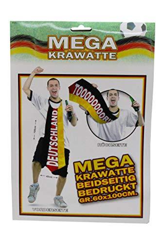 Folat- Cravate XXL Football Allemagne, 31201, Multicolore