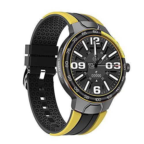 Reloj Deportivo Inteligente, Pantalla a Color De 1,28 Pulgadas, Seguimiento De Movimiento GPS, Frecuencia Cardíaca Y Modos De Deportes Acuáticos, Compatible con El Sistema iOS/Android