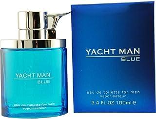 Best Yacht Man Blue Eau-de-toilette Spray, 3.4 Ounce Review
