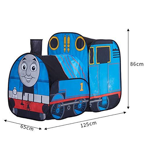HXML Jeux pour Enfants Tente Pop Up Thomas Train Gamehut Tunnel Toy Fun Cour arrière Tente pour Les Parties
