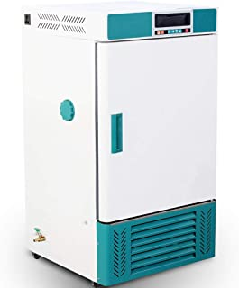 WELLiSH 70L Reptile Incubator Scientific Lab Incubator Cooling and Heating 0°C to +65°C for Small Reptiles Constant Temper...