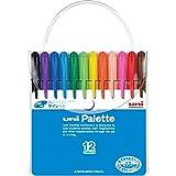 三菱鉛筆(uni) 食用染料サインペン PW-503 12色セット 1箱(5セット)