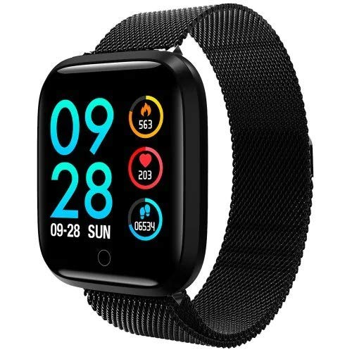 Smart Uhr für Damen Fitness Tracker Aktivität Tracker Herzfrequenzmesser Schlaf Monitor Smart Armband Schrittzähler Schritt Kalorienzähler Wasserfest