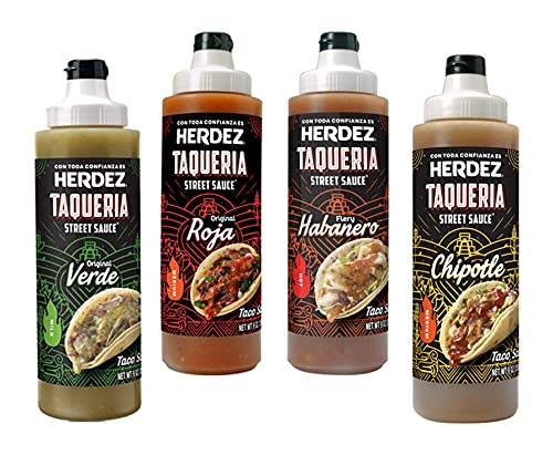 Herdez Taqueria Assorted Flavors Pack (1 of each)