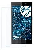 Bruni Schutzfolie kompatibel mit Wiko Highway Star 4G Folie, glasklare Bildschirmschutzfolie (2X)