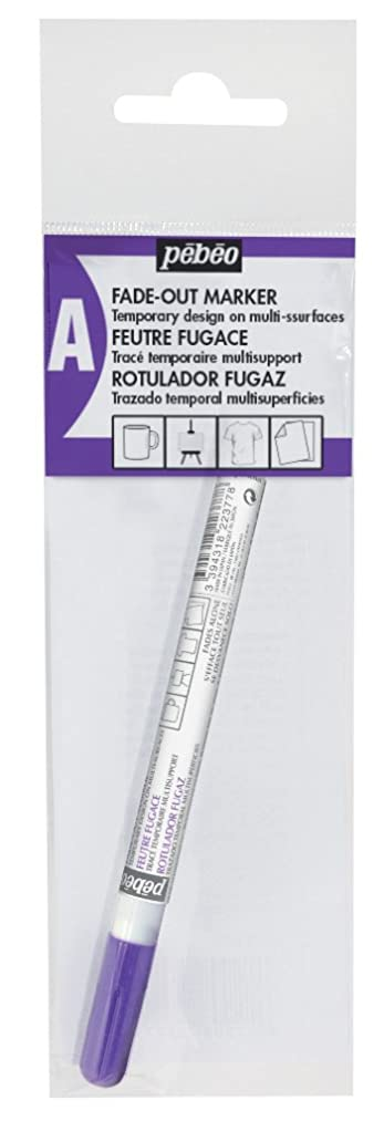 Pebeo Ephem'Air, Fade-out Marker for Fabric & Silk