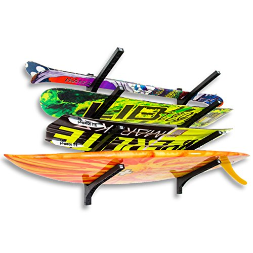 Official Nice Rack | Quad Surfboard Wall Rack -