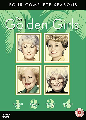 Golden Girls Seasons 1-4 DVD Boxset