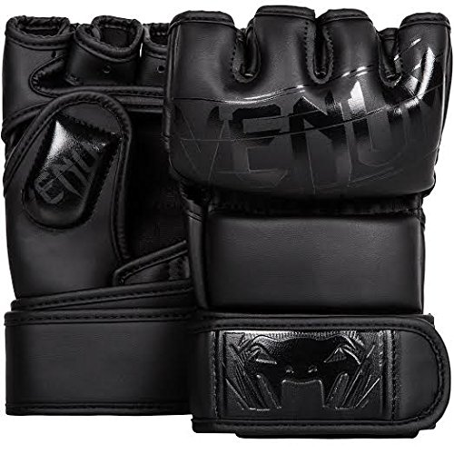 Venum Undisputed 20 MMA Shintex Leather Gloves Matte/Black Small