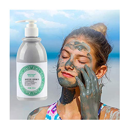 pathside Volcanic Mud Shower Gel, Natural Whitening Shower Gel,Deep Cleaning Whitening Moisturizing,After-Sun Repair Arm,Leg,Whole Body,Fresh Scent for Normal Skin (260ml)