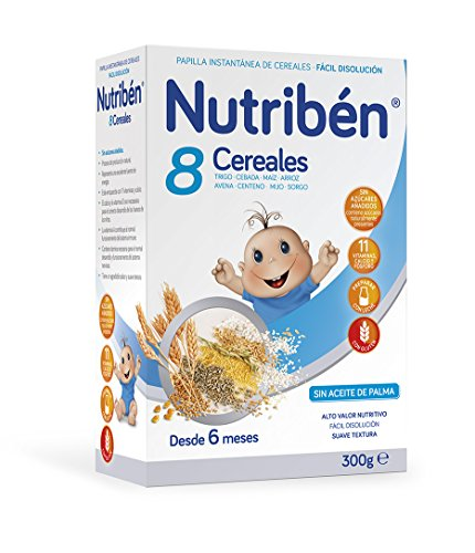 Nutribén Papilla 8 Cereales - 300 gr