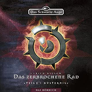 Düsternis (Das Schwarze Auge - Das zerbrochene Rad 2) Titelbild