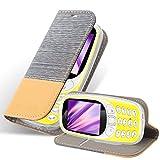 Cadorabo Hülle für Nokia 3310 in HELL GRAU BRAUN -