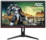 AOC G2868PQU, Monitor Gaming UHD (Resolución 3840X2160 Pixeles, 1Ms, Amd Freesync, 60Hz, Altavoces), 28', Negro/Rojo