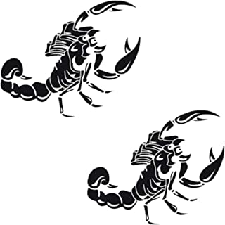 Suchergebnis Auf Für Skorpion Aufkleber Auto Motorrad