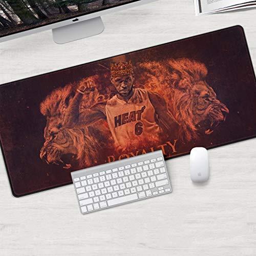 Extendida del juego alfombrilla de ratón LeBron James Kuzma Lakers NBA Baloncesto teclado grande alfombrillas de ratones impermeable antideslizante juego Mousepad for Ministerio del Interior PC de esc