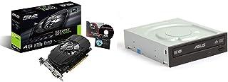 Asus GeForce GTX 1050 Ti 4GB Phoenix Fan Edition DVI-D HDMI DP 1.4 Gaming Graphics Card (PH-GTX1050TI-4G) Graphic Cards & ...
