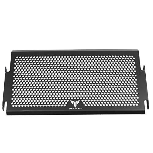 NEYOANN Protector de radiador de motocicleta parrilla cubierta protectora para MT 07 MT-07 MT07 FZ07 FZ 07 XSR700 2014-2017 Acero Negro