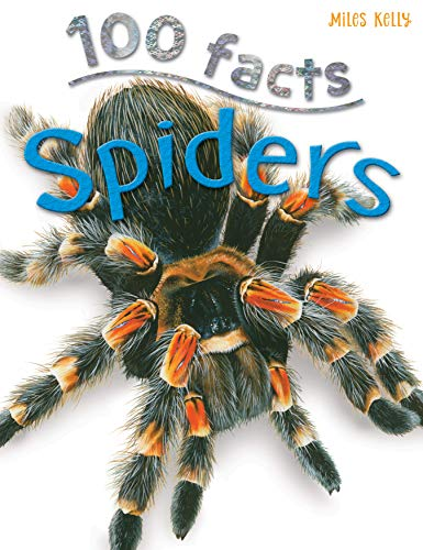 100 Facts Spiders- Venomous Animals, Educational Projects, Fun Activities, Quizzes and More!