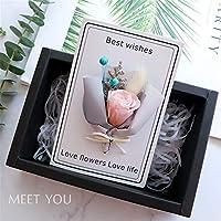 グリーティングカードドライフラワーカードカスタムdiyカード創造的な誕生日の先生の日先生にすべての機会を送る空白のメモカードグリーティングカード20 * 15 cm