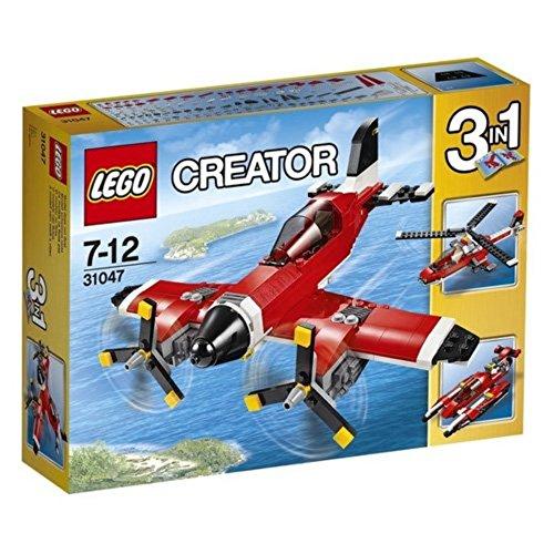LEGO creator Aereo a Elica, Multicolore, 31047